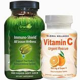Immuno-Shield and Vitamin C Bonus Pack