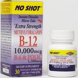 No Shot Methyl B12 10,000 mcg